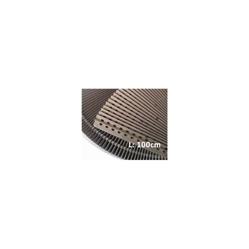 Filtro perforado cabina de pintura o barniz - 100cm